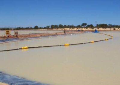 Jetting Dredge begins on secondary pond slimes