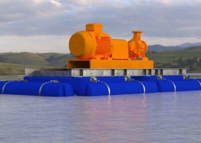 Modular Floatation System Concept 2 Side